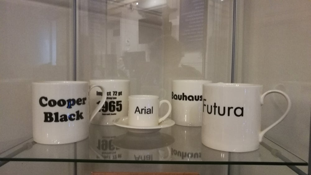 Image of Typeface Mugs