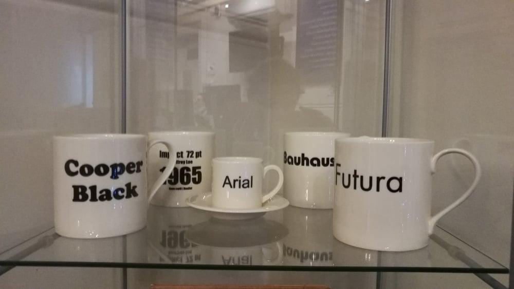 Image of Typeface Mugs