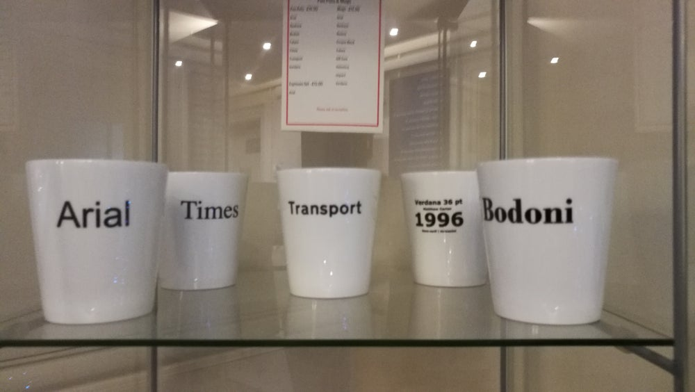 Image of Typeface Pen Pots