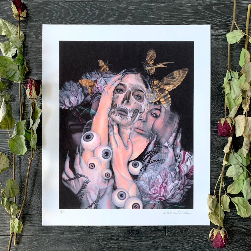 Image of Limited Edition 'Dark Is Turning Blue' Giclée Print
