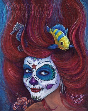 Ariel (SUGAR SIN) - Print