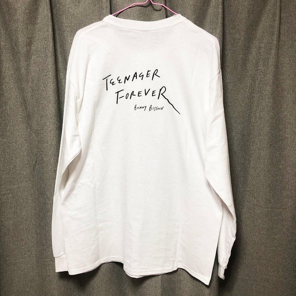 Image of 'TEENAGER FOREVER'「영원한 십대」LONG SLEEVE T-SHIRT