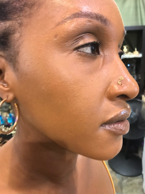 Image of Slither nose ring