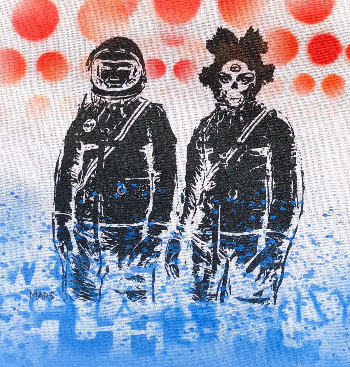 Image of Mars (UFO PILOTS #17) Tote Bag 1/1