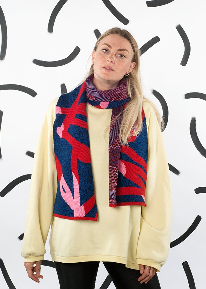Image of We are out of office club scarf (Blue)