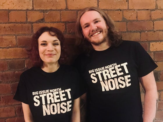 Image of Black Street Noise t-shirt
