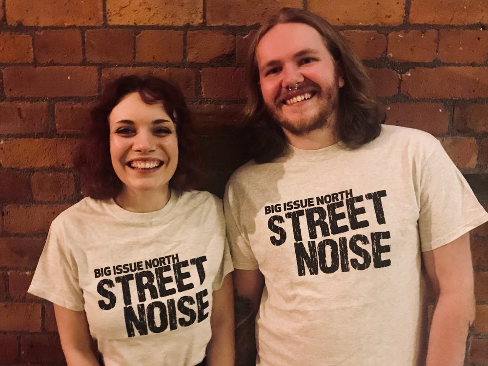 Image of Grey Street Noise t-shirt