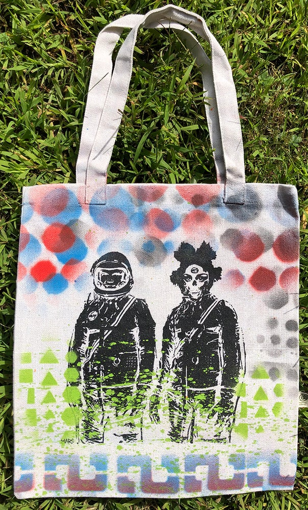 Image of Mars (UFO PILOTS #19) original 1/1  Tote Bag
