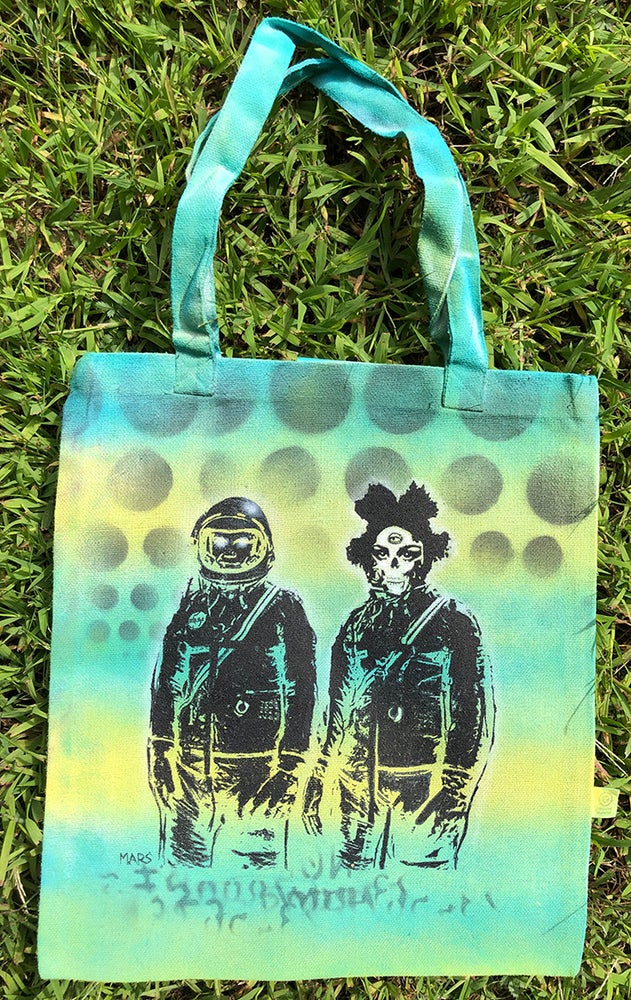 Image of Mars (UFO PILOTS #22) Original Tote Bag 1/1
