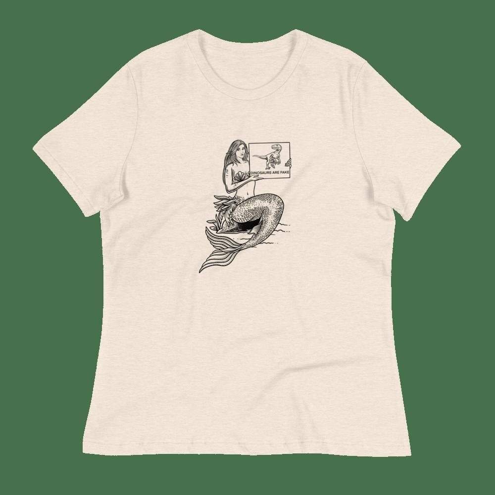 Image of The Woke Mermaid Women's T-Shirt