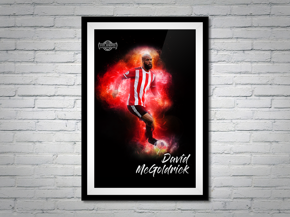 Image of David McGoldrick poster