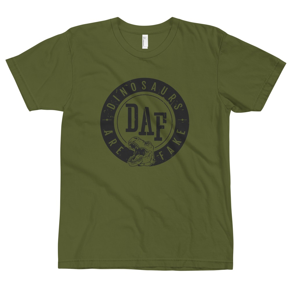 Image of Revolution Badge T-Shirt on Olive