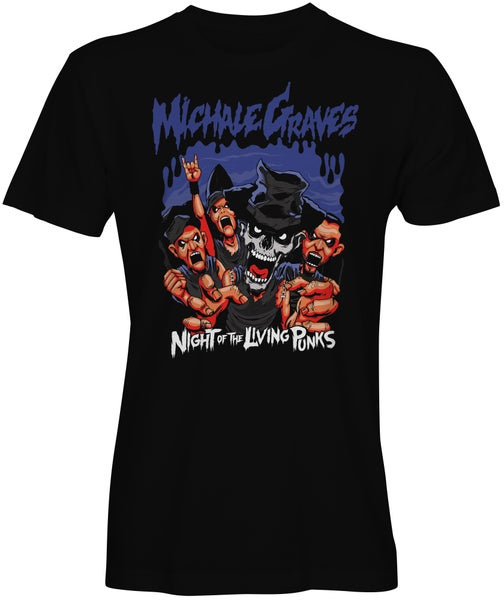"Image of PRE-SALE Michale Graves ""Night of the Living Punks""T-shirt"