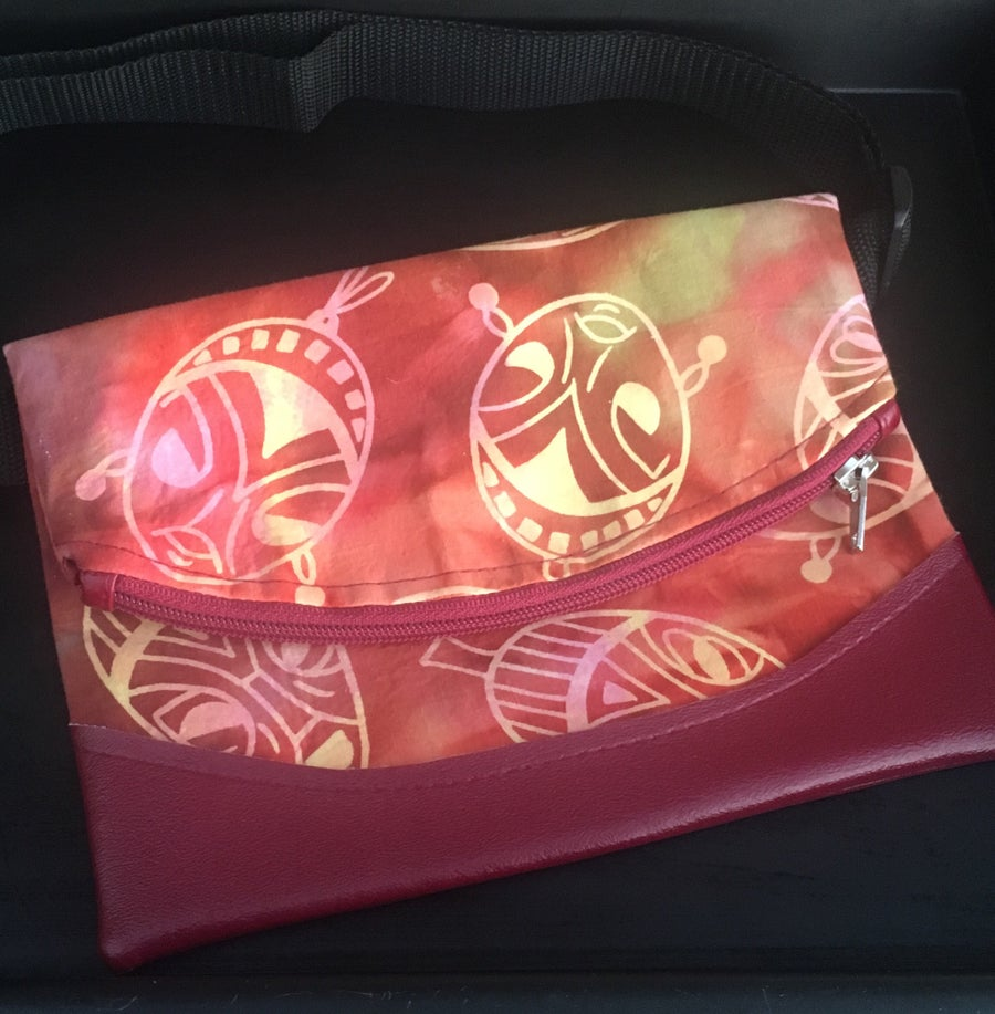 Image of Designs By IvoryB Fanny Pack-Faces Ankara AfricanPrint