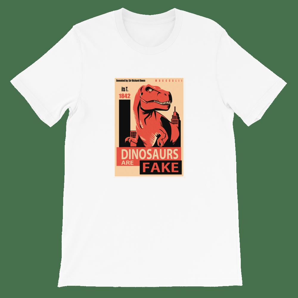Image of Reverse Propaganda White T-Shirt