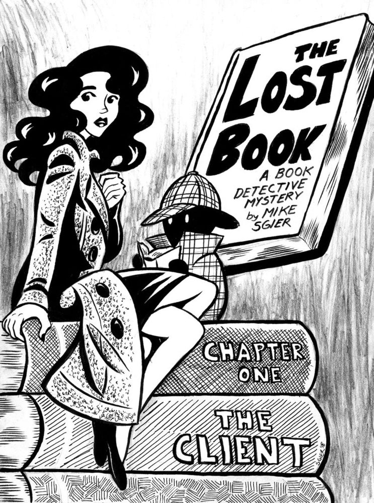 Image of The Book Detective - The Lost Book Chapter 1