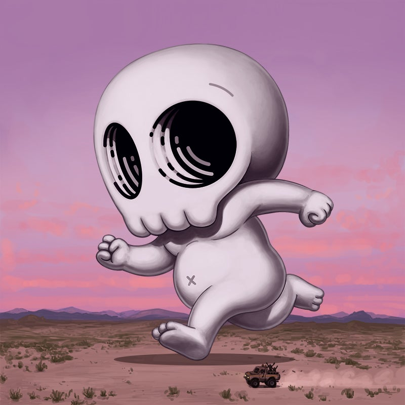 Image of Skully III (desert)