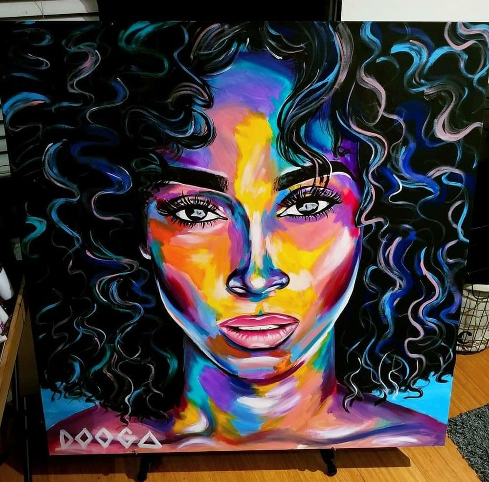 Image of Nadia - Canvas Print