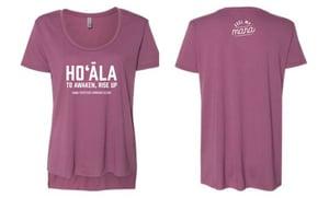 Image of Hoʻāla Women's Shirt (maroon)