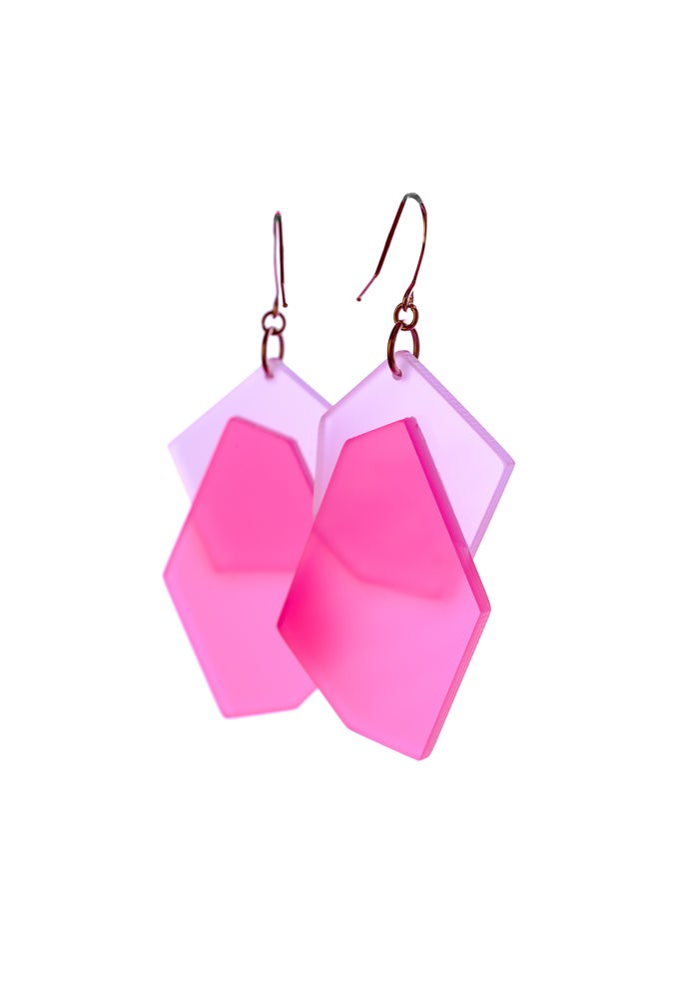 Image of ColorPop Earrings in Lavender Rouge