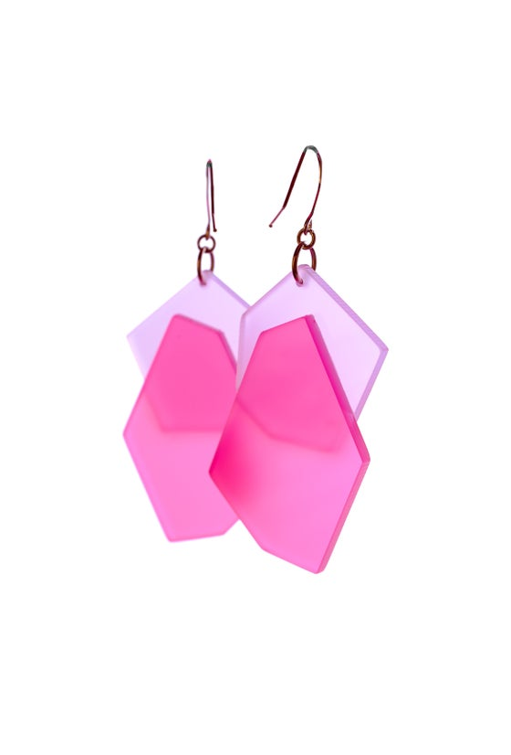 Image of ColorPop Earrings in Lavender Rouge