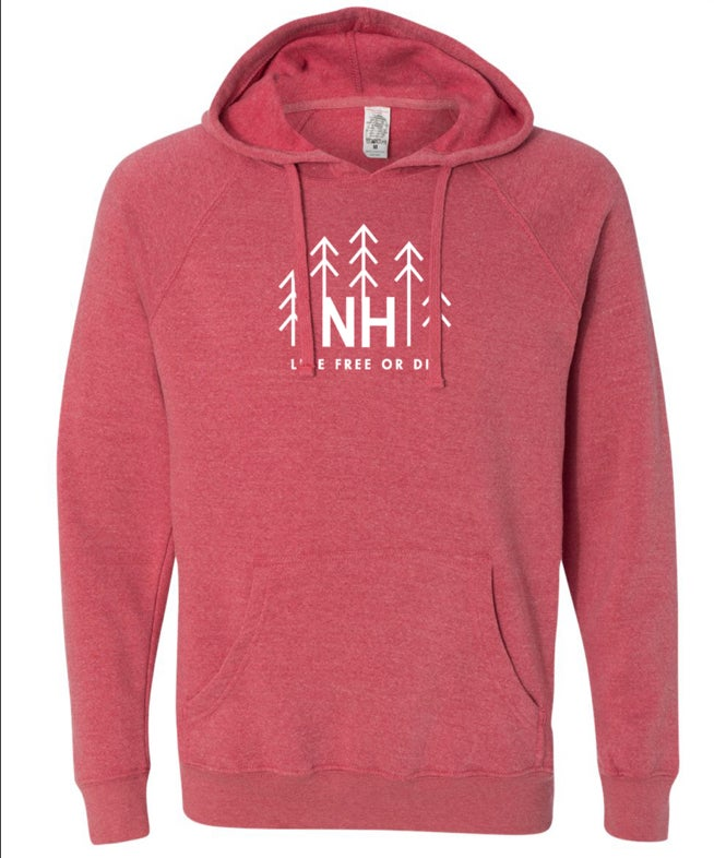 Image of Pomegranate Tree Logo Hoodie
