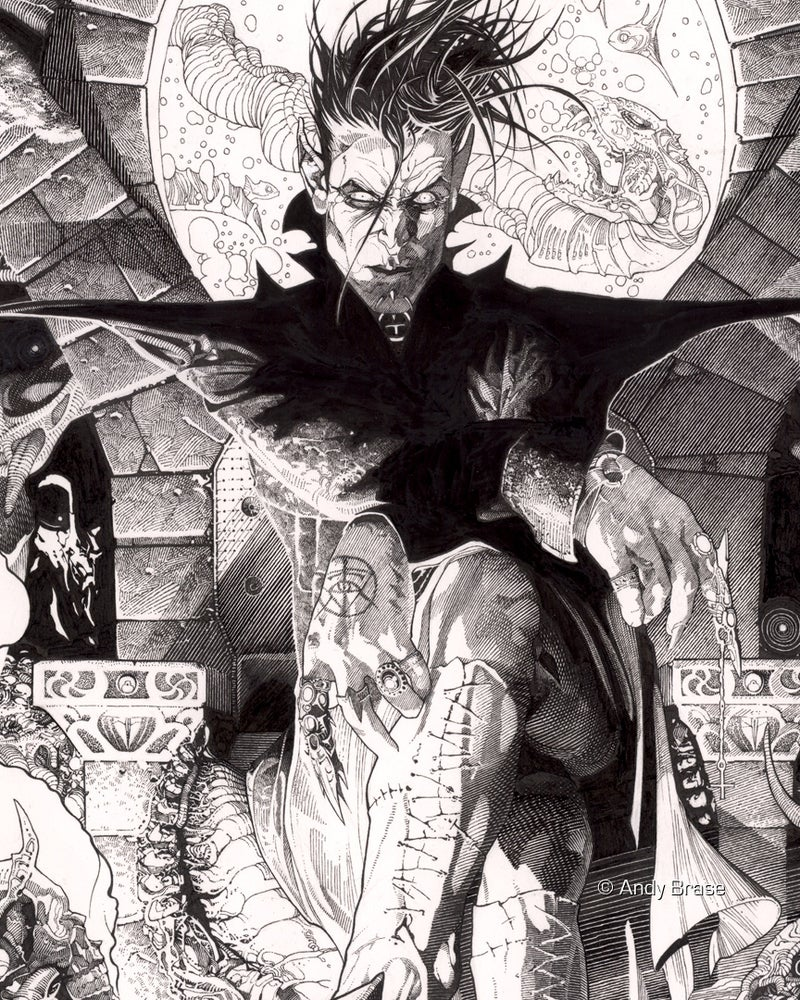 Image of Gatekeeper of the Dark- 13x19 Limited Print (signed)