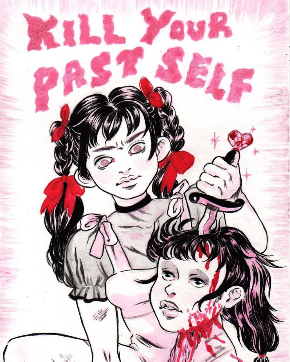 Image of Kill Your Past Self Poster (11x17)