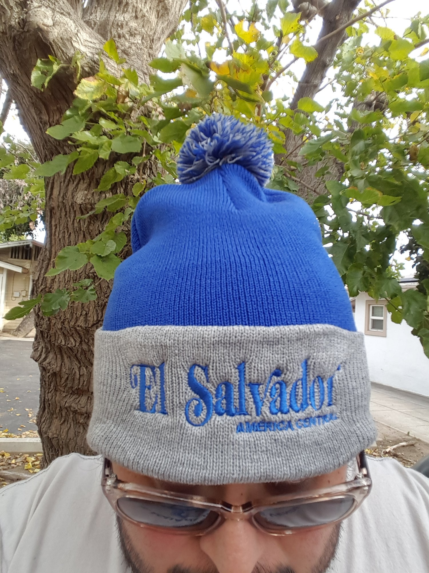 Image of El Salvador Embroidered Beanie