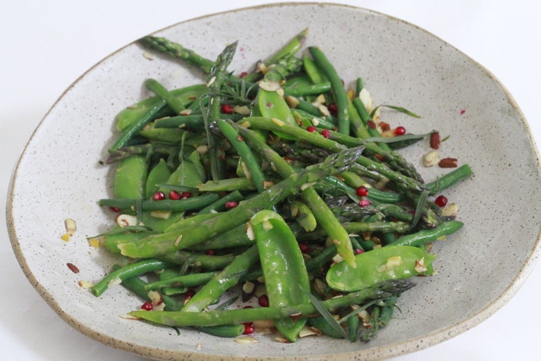 Image of Asparagus Green GODDESS Salad