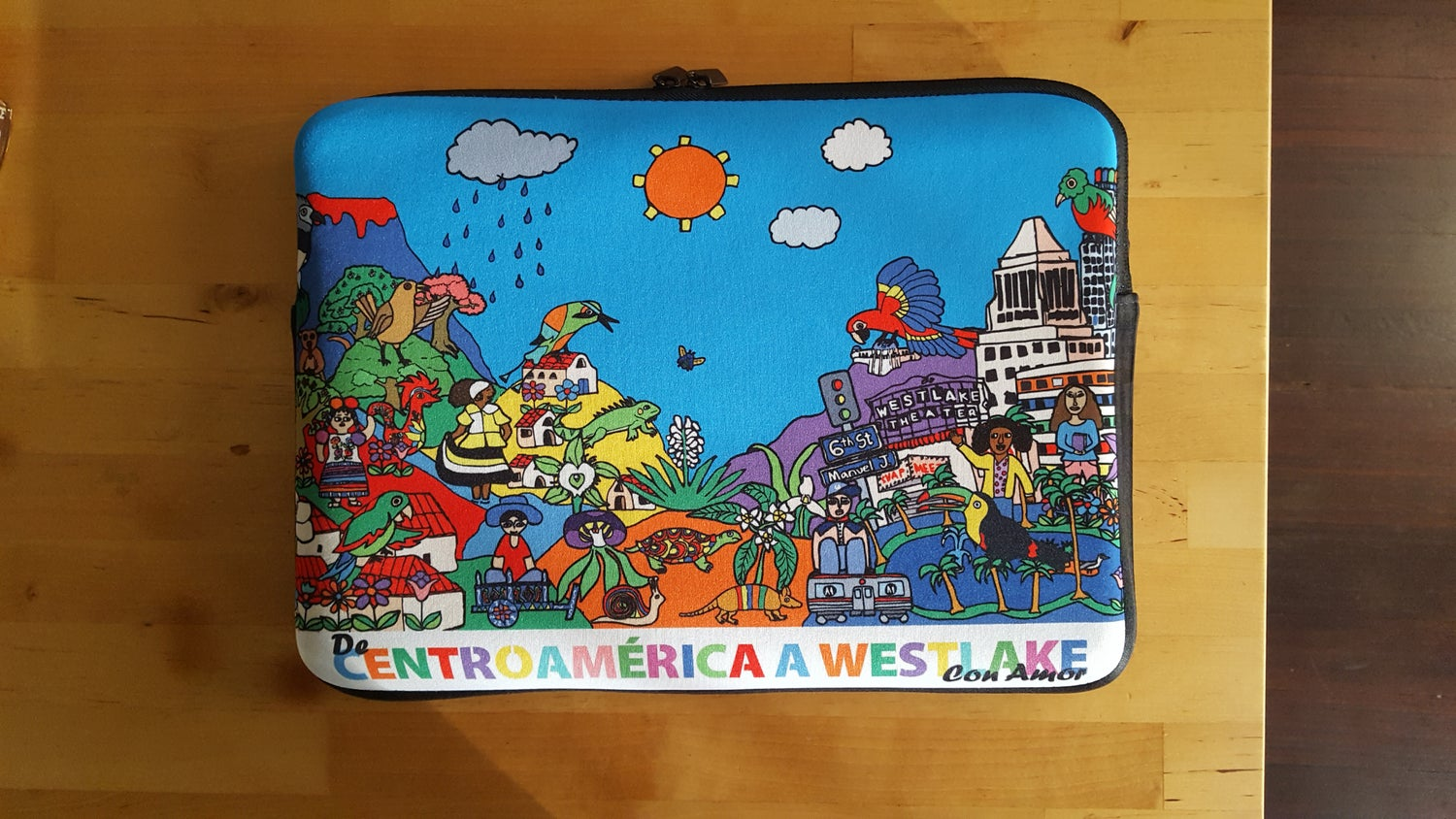Image of From Central America with Love Laptop Sleeve
