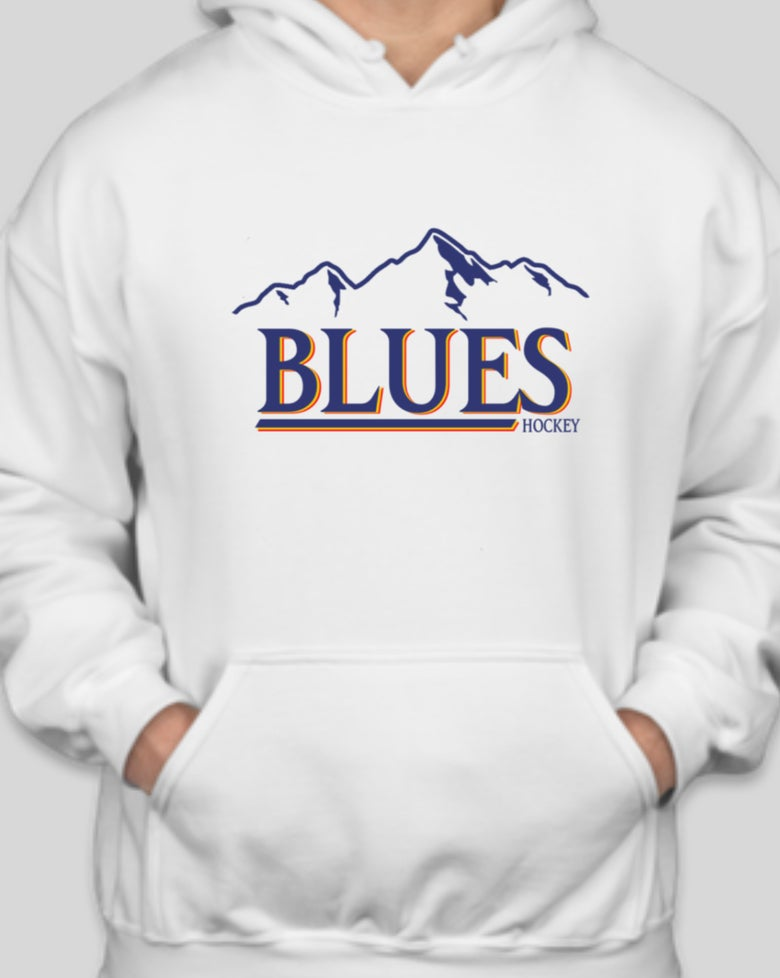 Image of (FINAL CHANCE) Vintage Blues/Busch Hoodie Pre-Order