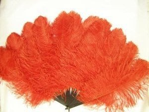 Image of Maribu Feather Hand Fan