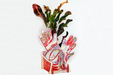 Image of 'Hands' Planter