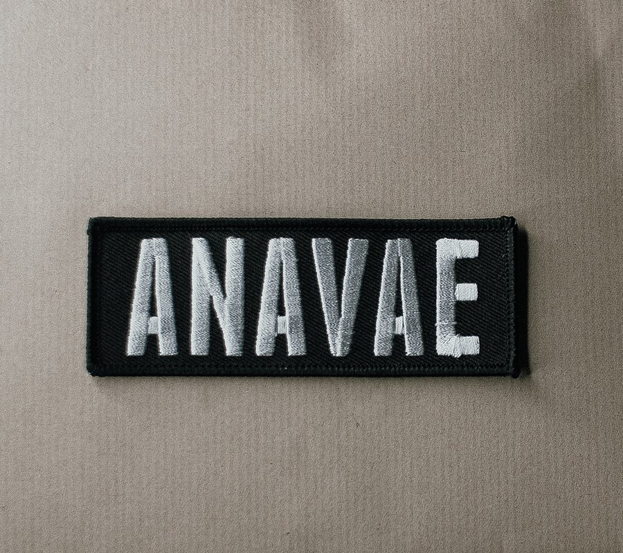 Image of Anavae Embroidered Patch