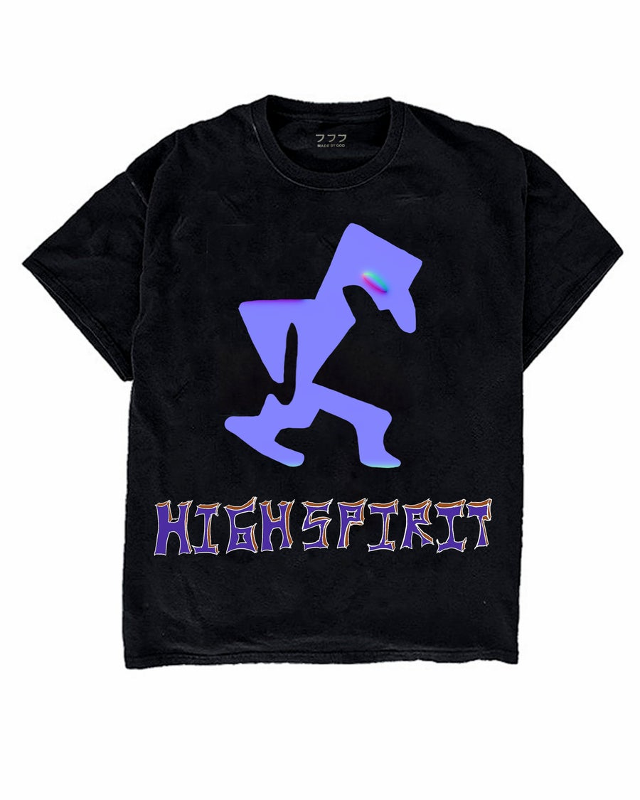 Image of HIGH SPIRIT TEE (BLACK)