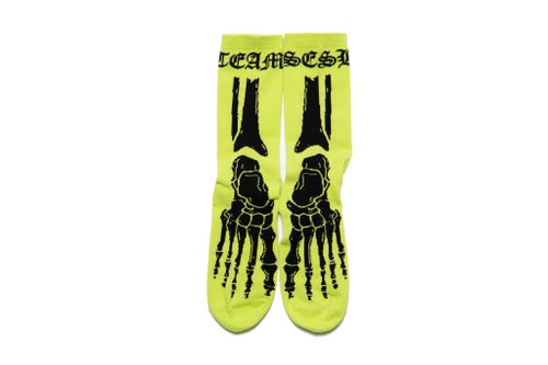 Image of Team Sesh Skeleton socks