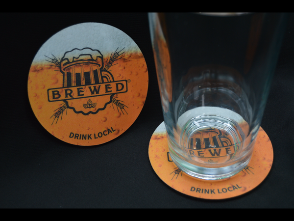 Image of Brewed coaster