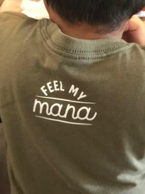 Image of Hoʻāla Keiki Shirt (army green)