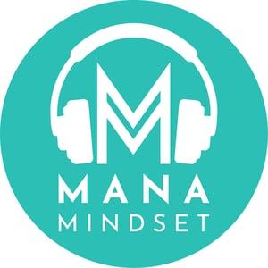 Image of Mana Mindset Sticker (Turquoise)