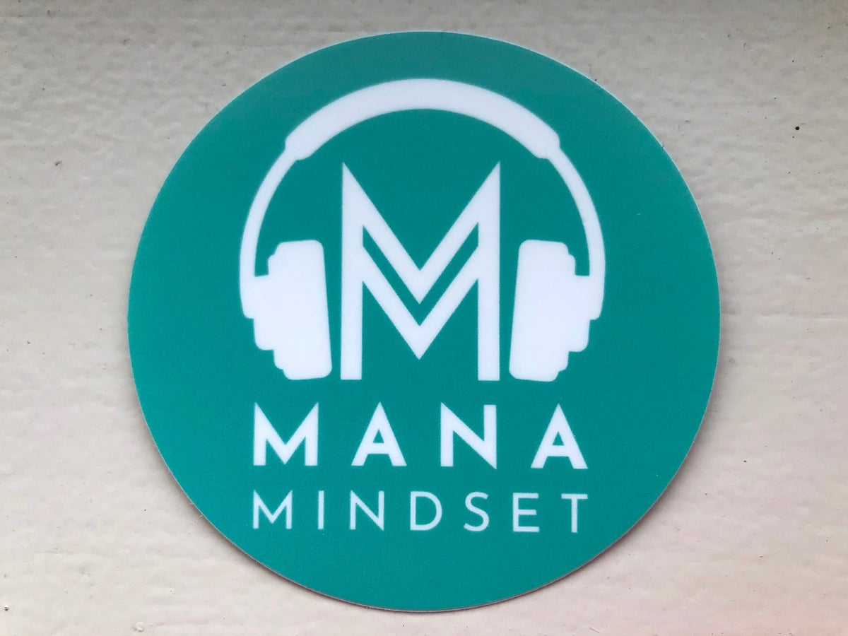 Image of Mana Mindset Sticker (Turquoise)