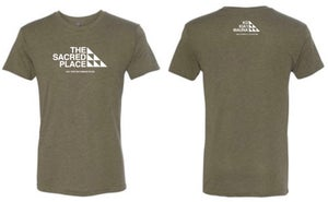 Image of The Sacred Place Army Green (unisex)