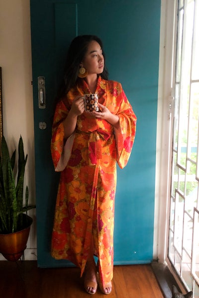 Image of Feelin' groovy long length robe