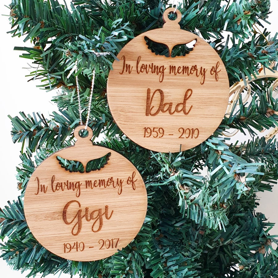 Image of In Loving Memory Baubles