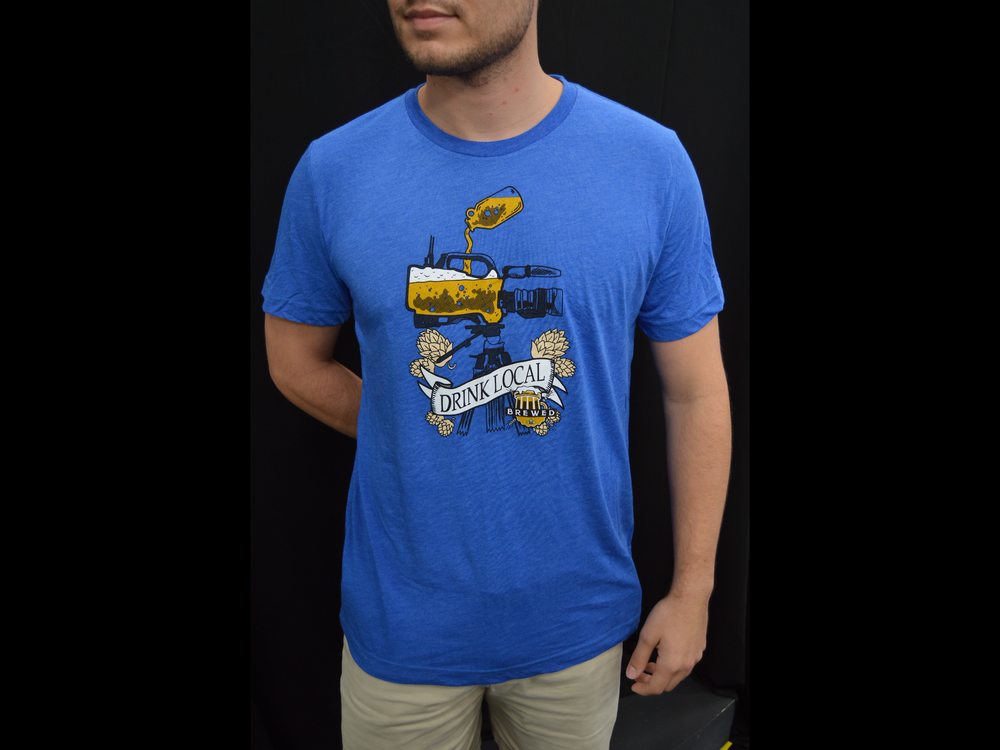 Image of Brewed T-Shirt (Blue)