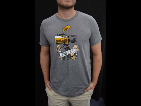 Image of Brewed T-Shirt (Grey)