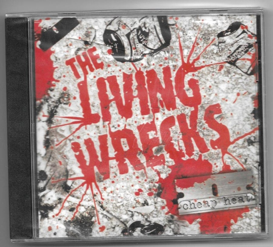 "Image of The Living Wrecks ""CHEAP HEAT"" CD"