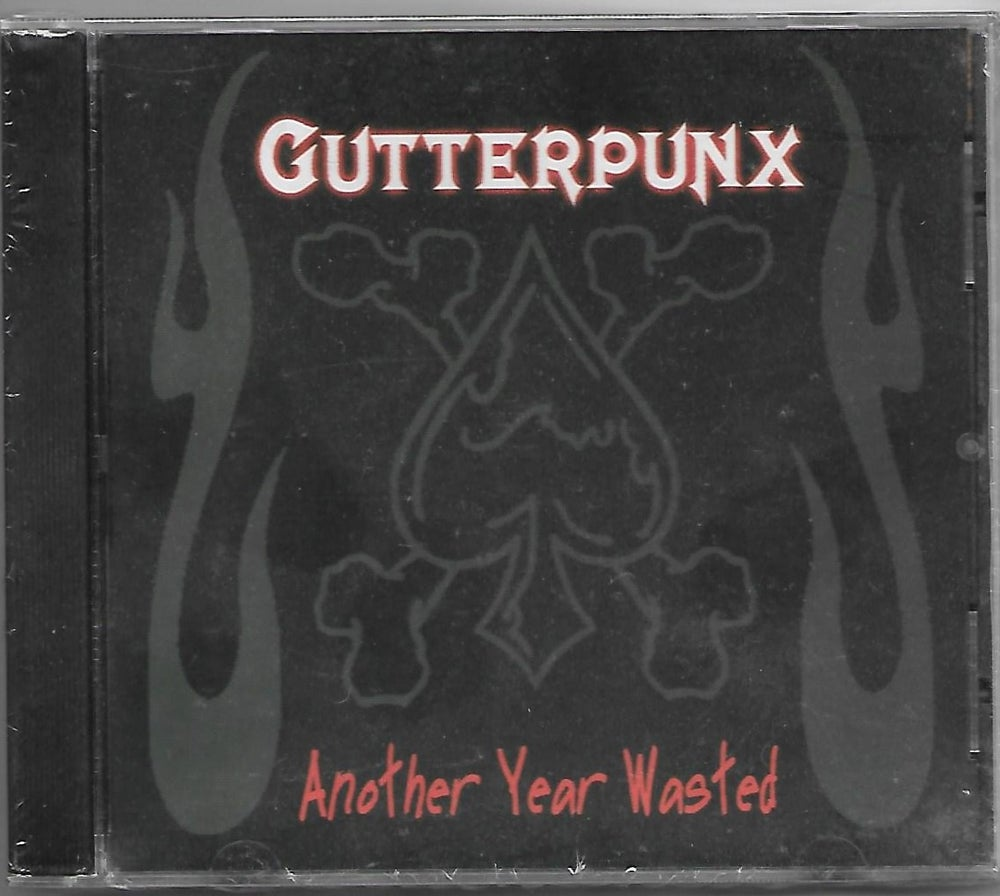 "Image of Gutterpunx ""ANOTHER YEAR WASTED"" CD"