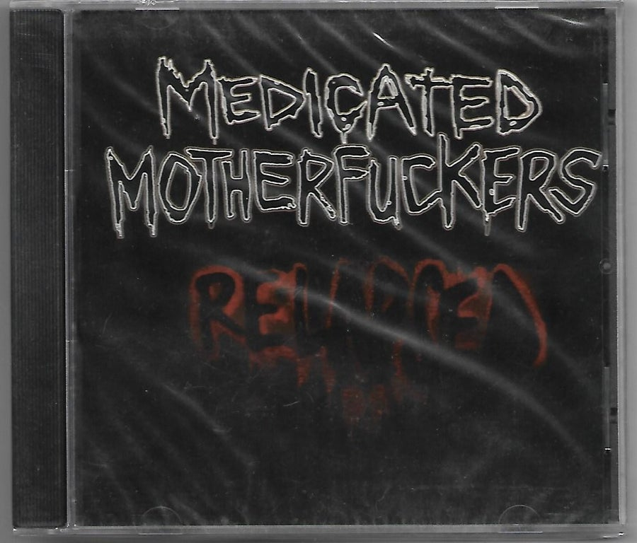 "Image of Medicated Motherfuckers ""RELAPSED"" CD"