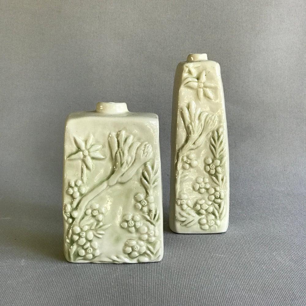 Image of Celadon Kangaroo Paw Vase Square
